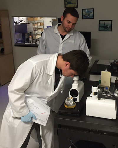 Precision optics technicians create, measure, coat, and integrate components into electro-optical systems.