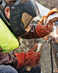 Welding technicians work in many industries including petro-chemical.