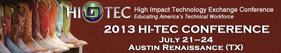 HI-TEC 2013 Conference - Austin, TX