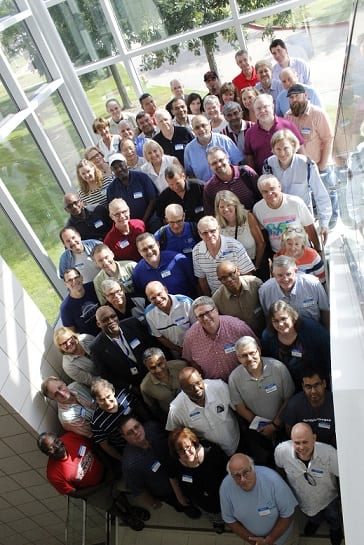 CCN members from schools across the country gather during a 2016 annual summer meeting.