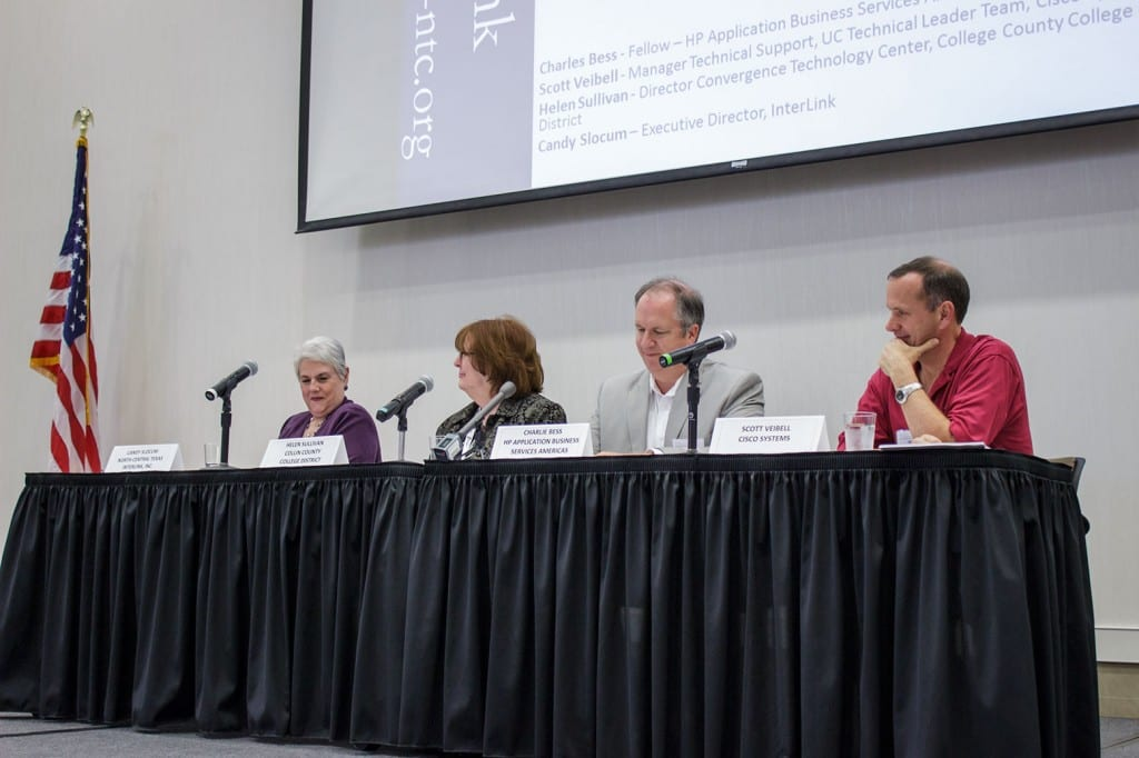 Panel (L to R):  Candy Slocum, Helen Sullivan, Charlie Bess, and Scott Veibell